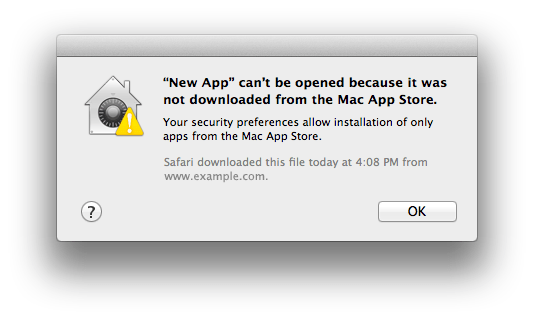 Apple OS X Gatekeeper