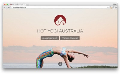 Website Launch – Hot Yogi Australia